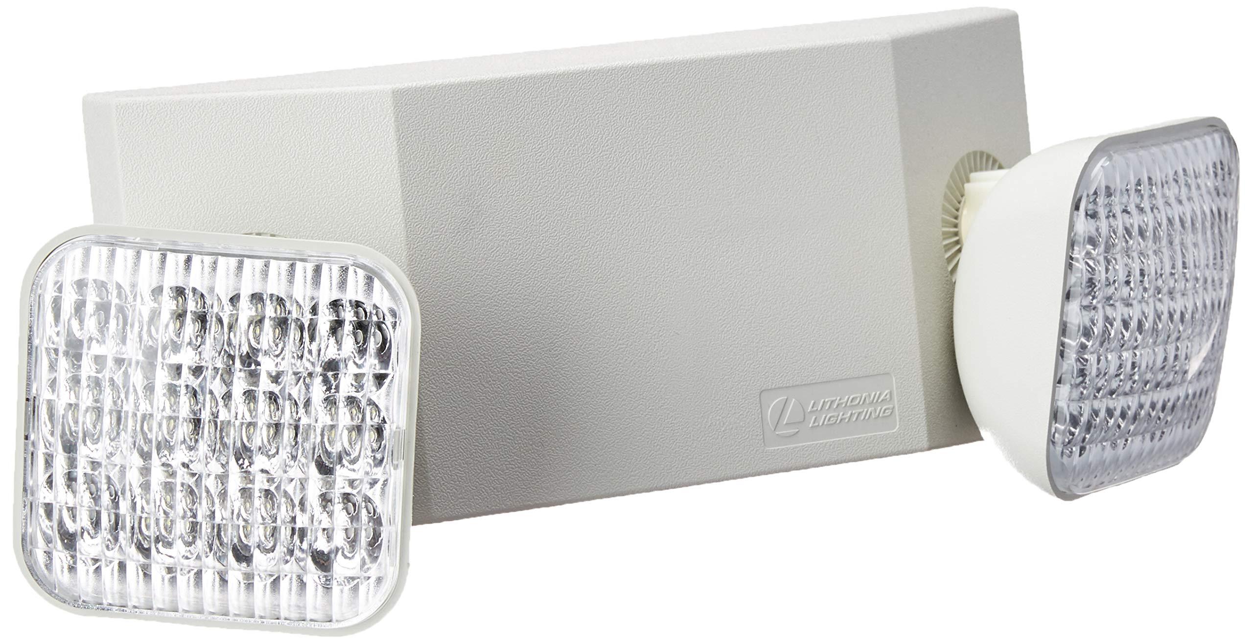 Lithonia Lighting EU2C M6 Emergency Light, Generation 3, T20 Compliant by Lithonia Lighting