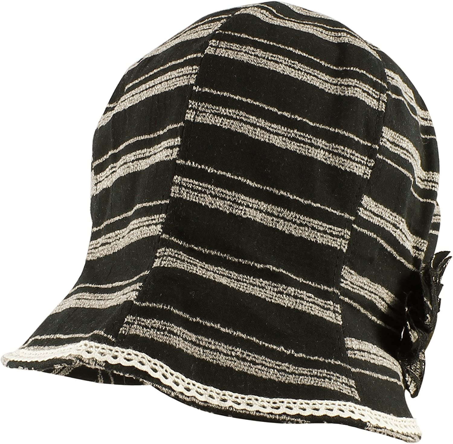 Morehats Striped Cotton...