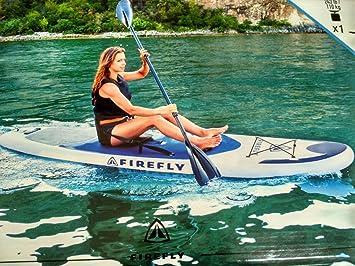 Juego de surf de remo Firefly i SUP 300, BLUE DARK/WHITE/BLK