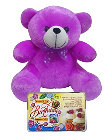 546783387b14 Buy Saugat TradersTM Birthday Gift for Kids Combo of Birthday Quotation    Birthday Soft Teddy Online at Low Prices in India - Amazon.in