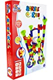 FLYING START Marble Run Toy - 100 Pcs Building Blocks Ages 4+
