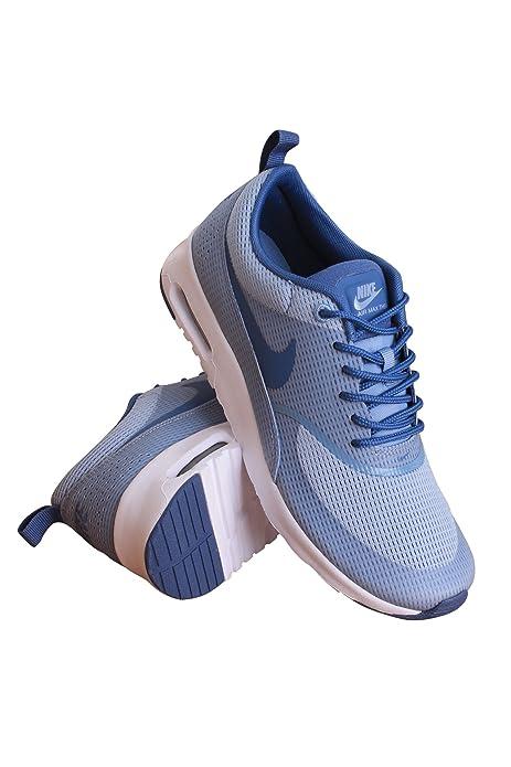 38cac39e04f Nike 819639-400 Women W AIR MAX THEA TXT Blue Grey/White/Ocean Fog: NIKE:  Amazon.ca: Shoes & Handbags