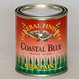 General Finishes PCB Milk Paint, 1 pint, Coastal Blue