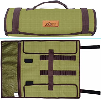 Outdoor Camping Awning Tent Pegs Hammer Nails Pouch Storage Bag Stuff Sack W