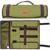 Tent Stake Storage Bag, Heavy Duty Oxford Polyester Case for Tent Pegs and Camping Hammer, Pretty Handy to Store All Your Camp Stuff in