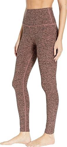 7207e45389 Amazon.com: Beyond Yoga Women's Spacedye High Waist Midi Leggings: Clothing