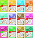 Word Search Pad Books (Set of 12 Titles)
