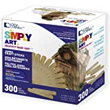 Simply Art Wood  Jumbo Craft Sticks 300 ct.