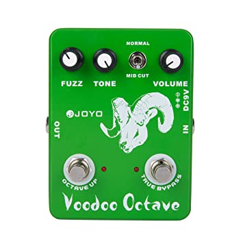 Joyo Pedal de Efectos para Guitarra Eléctrica (Voodoo Octave)