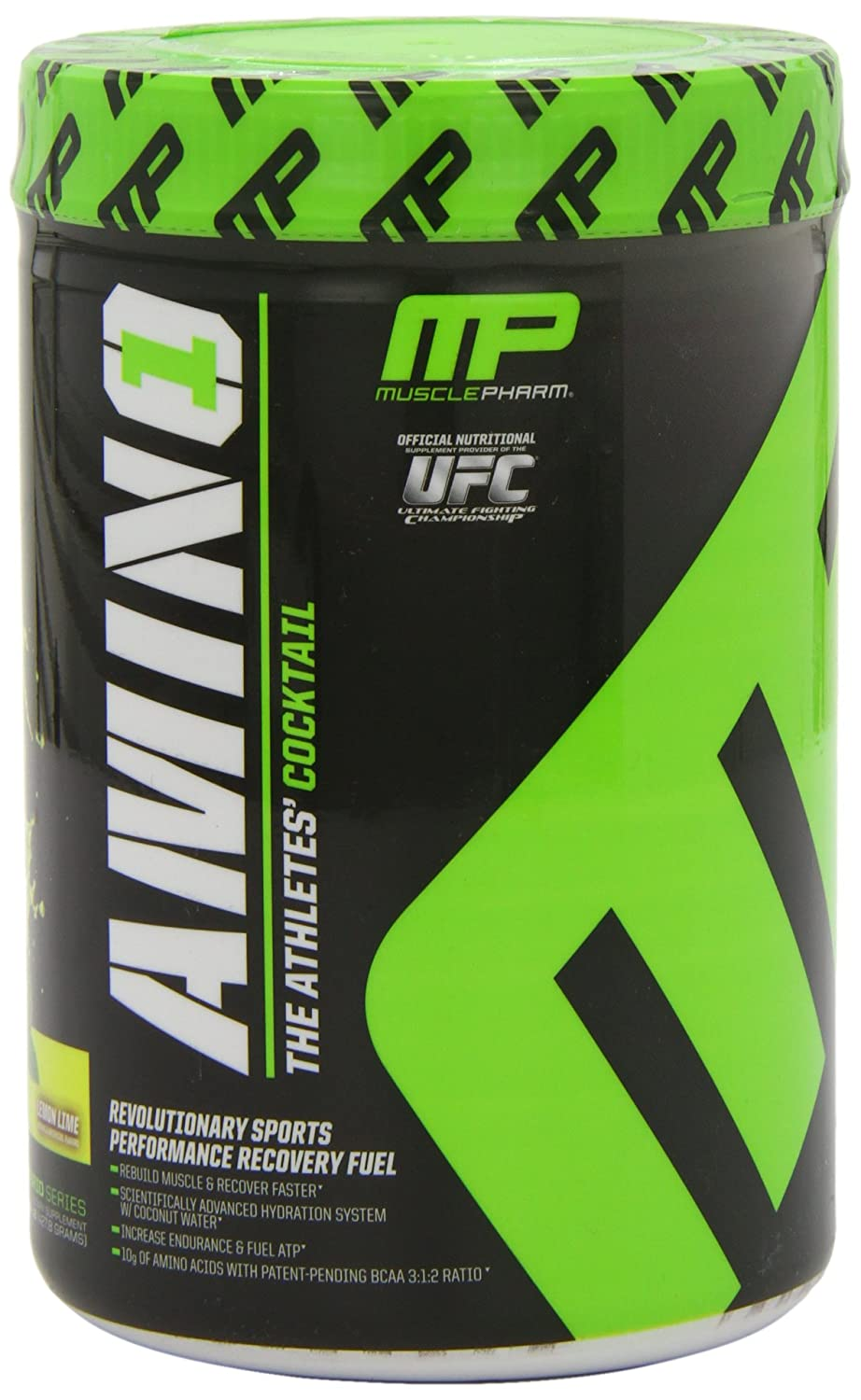 Amazon.com: MusclePharm Amino 1 Hydration & Recovery Supplement, Lemon Lime, 30 Servings: Health & Personal Care