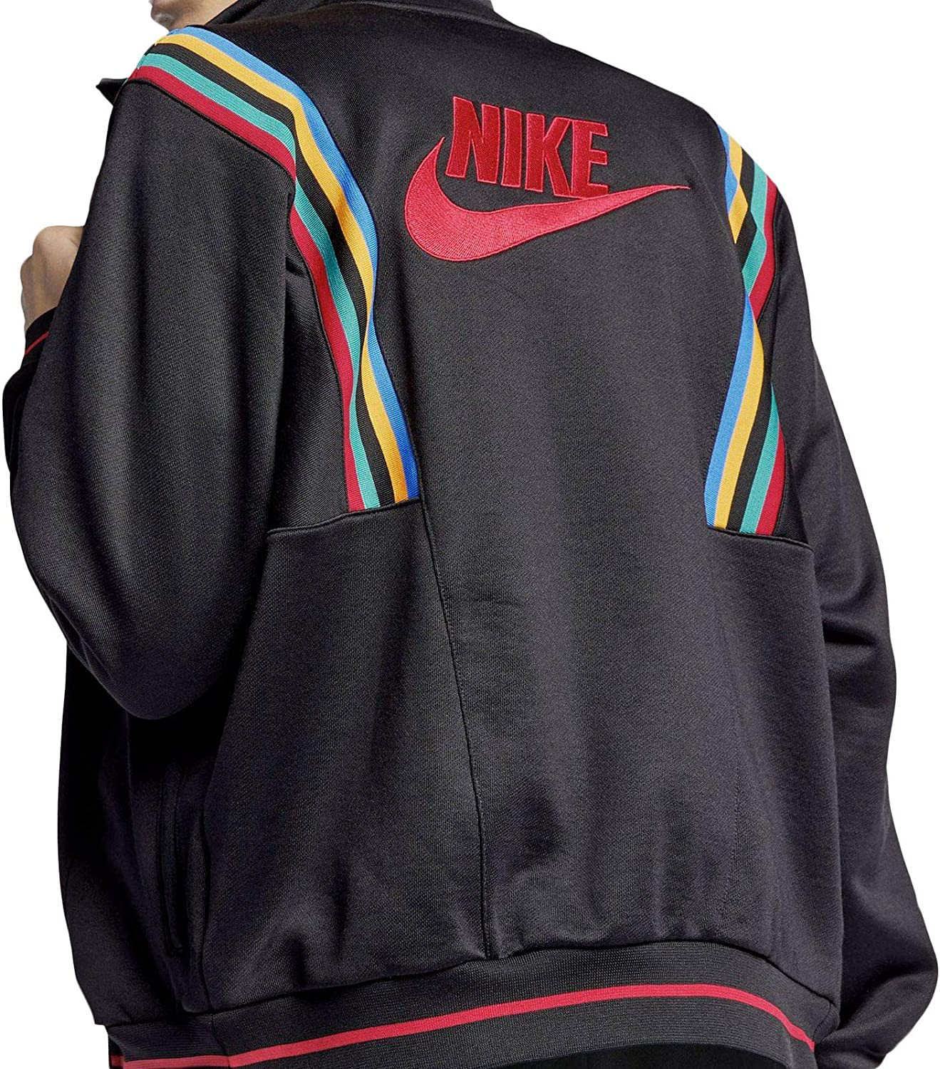 Amazon Com Nike Sportswear Re Issue French Terry Men S Jacket X Large Clothing [ 1500 x 1324 Pixel ]