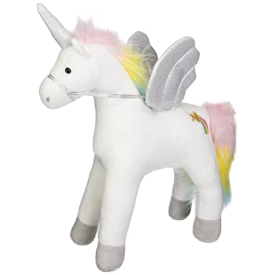 "GUND My Magical Sound and Lights Unicorn Stuffed Animal Plush, White, 17"": Toys & Games"