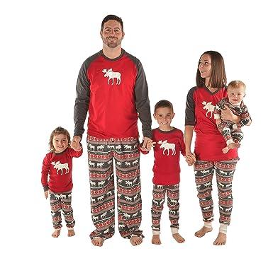 Amazon.com: Lazy One Matching Christmas Pajamas For The Family ...