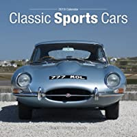 Classic Sports Cars Calendar 2019