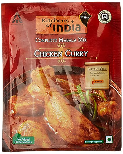 Kitchens of India Chicken Curry Masala Mix  80g available at Amazon for  Rs 45KITCHENS OF INDIA HYDERABADI CHICKEN BIRYANI MASALA MIX 80G price  . Amazon Kitchens Of India Butter Chicken. Home Design Ideas