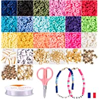 Kit Isma juegos de hacer pulseras collares y anillos, collares. caja manualidades. perlas para manualidades de pulseras…