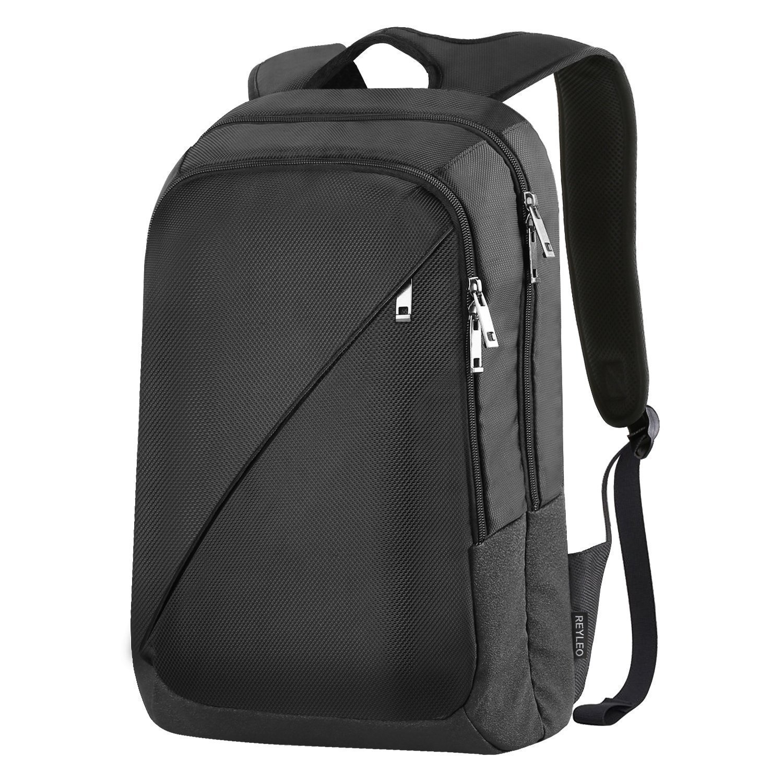 REYLEO Mochila de Portátil Backpack Impermeable Para el Laptop del Negocio Trabajo