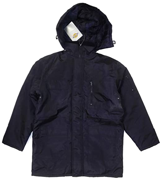 select for official buy sale quality first Dickies Mens Security Jacket Water Resistant Hooded Quilted ...