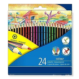 Forniture di disegno 24 Colour Colouring Pencil - Assorted Colours per te da kangqi