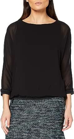 Tom Tailor Materialmix Camiseta para Mujer