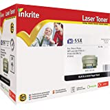 Inkrite Remanufactured Toner Cartridge Replacement for HP CE255X Black