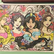 Trends International  Disney Princess 18x24 Coloring Poster Trends Inernational RPAZ386