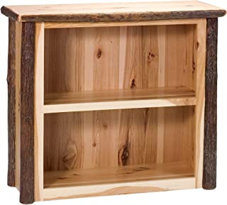 product image for Fireside Lodge Natural Hickory Log Small Bookshelf - Standard Finish