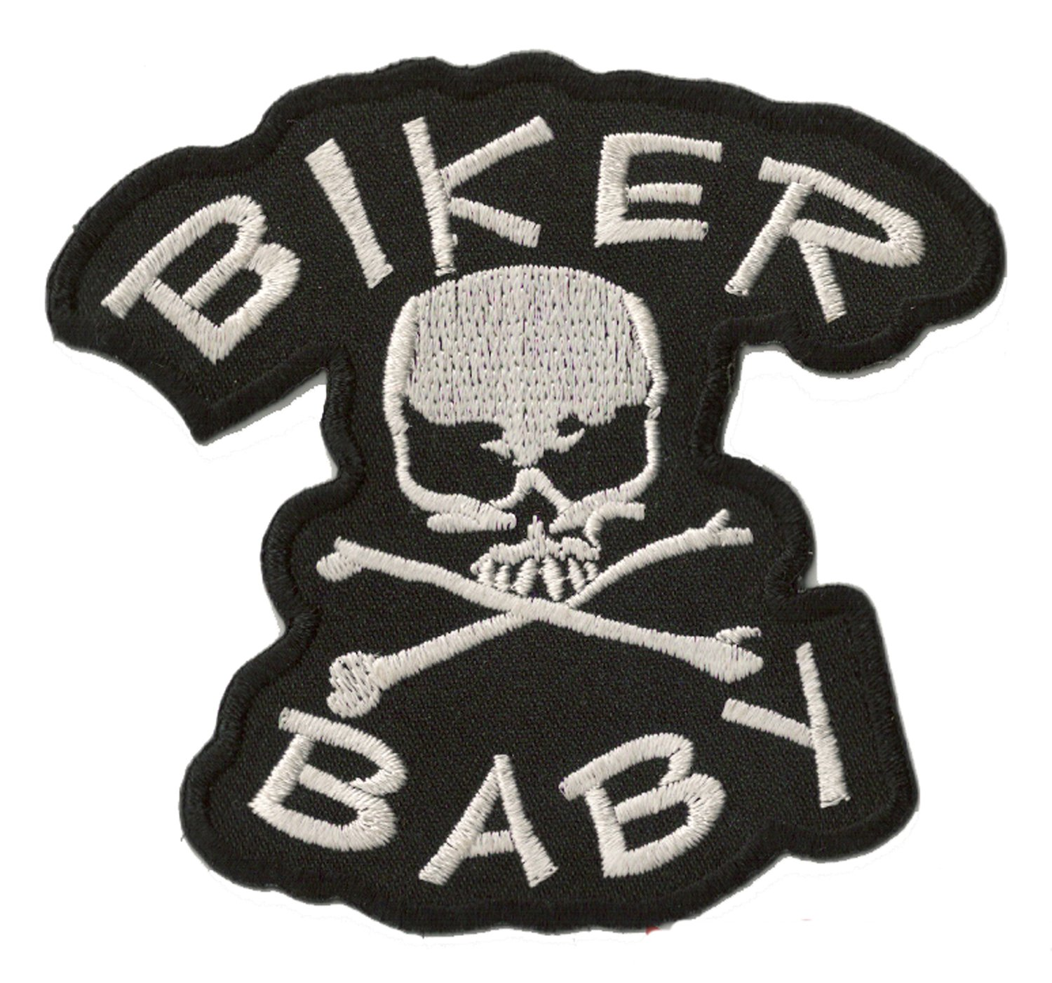 NagaPatches Patche /écusson thermocollant Biker Baby