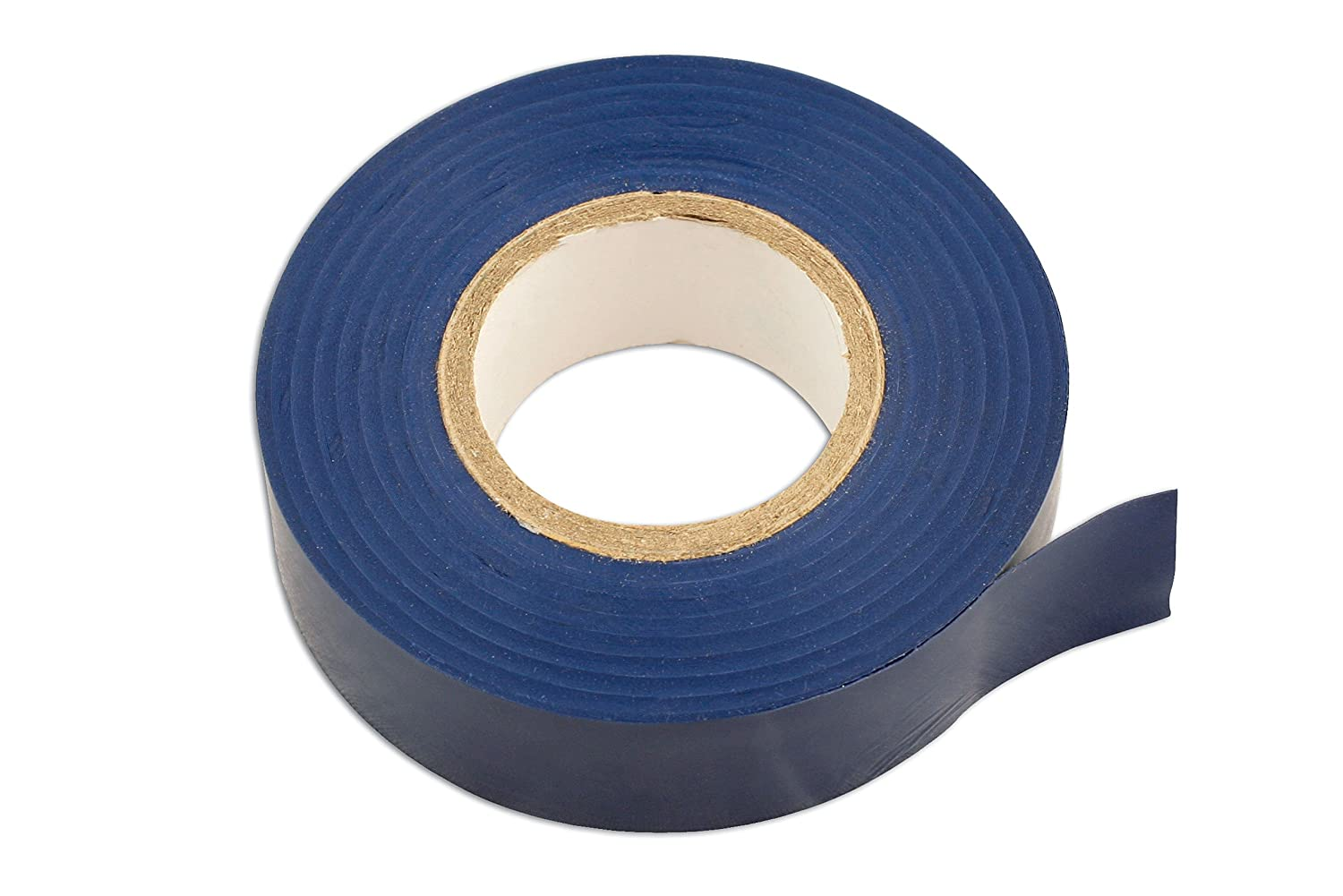 Connect 30375 19 x 20m PVC Insulation Tape - Blue (Pack of 10) The Tool Connection Ltd.