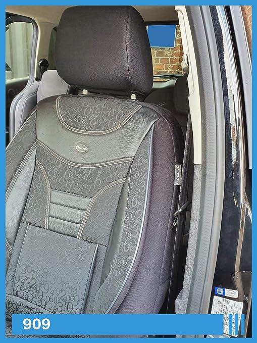Maß Sitzbezüge Kompatibel Mit Skoda Karoq Fahrer Beifahrer Ab 2017 Fb 909 Baby