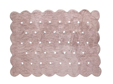 Tappeti Colorati Per Camerette : Aratextil tappeto per cameretta bambino cotone cookie tortora