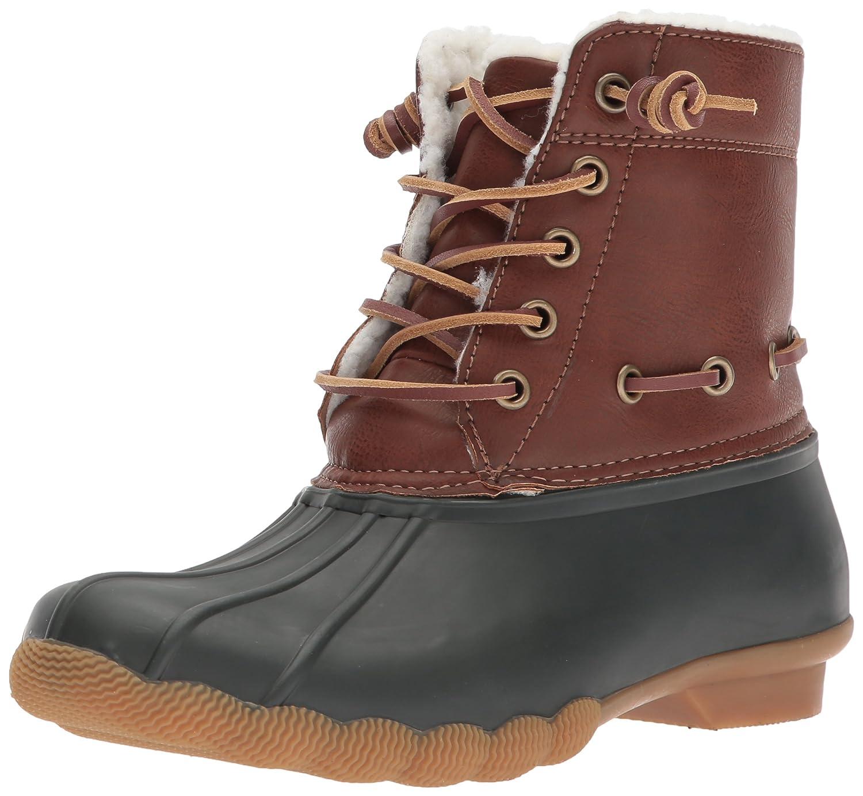 Steve Madden Women's Torrent Rain Boot B075Y8TN2F 7 B(M) US|Green/Multi