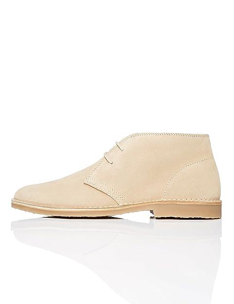 Find Zapatos de Ante para Hombre, Beige (Stone), 41 EU