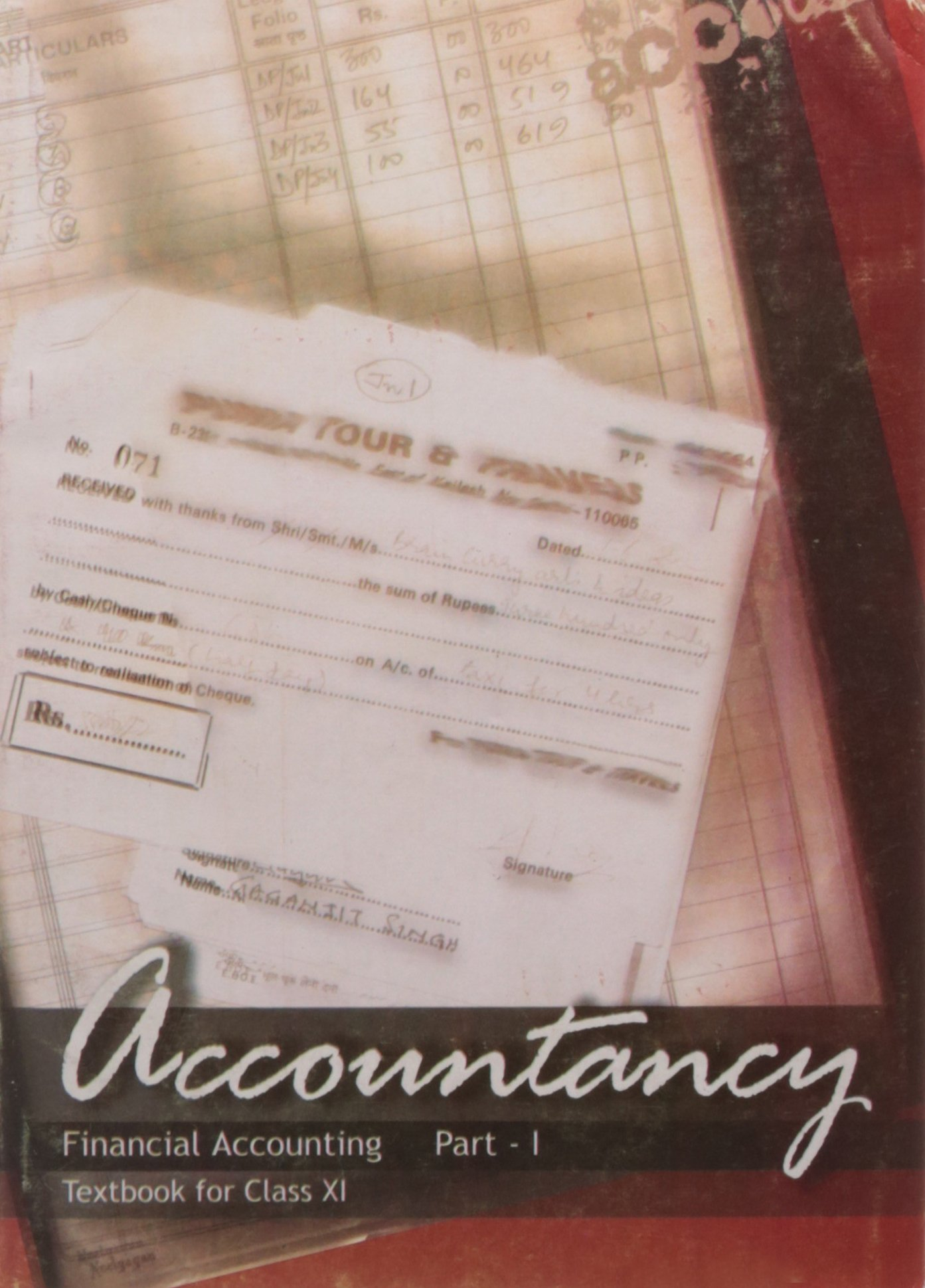 Accountancy Financial Accounting Part – 1 Textbook for Class – 11- 11110