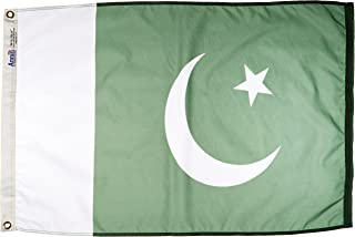 product image for Annin Flagmakers Model 196514 Pakistan Flag Nylon SolarGuard NYL-Glo, 2x3 ft, 100% Made in USA to Official United Nations Design Specifications