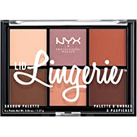NYX PROFESSIONAL MAKEUP Lid Lingerie Shadow Palette, 0.28 Ounce