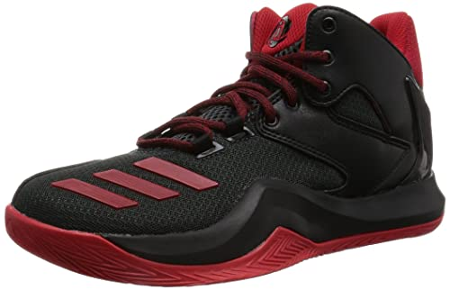 newest collection 1f124 e45cd adidas Unisex Kids Derrick Rose 773 V Basketball Shoes, (Core BlackScarlet