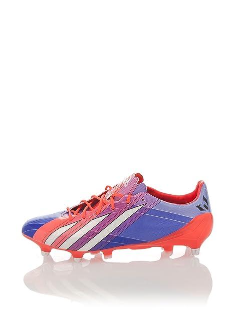 adidas Zapatillas Football Adizero F50 TRX FG Messi Naranja/Azul EU 42 2/3: Amazon.es: Zapatos y complementos