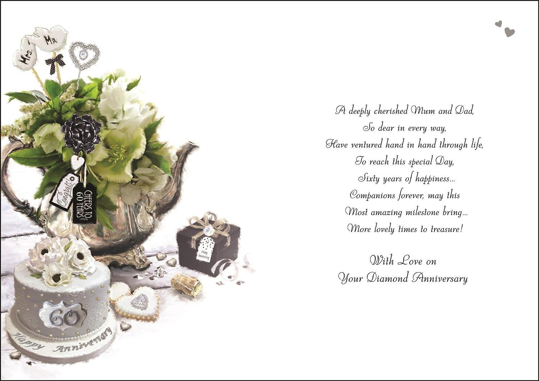Jonny Javelin Mum /& Dad Wedding Anniversary Card