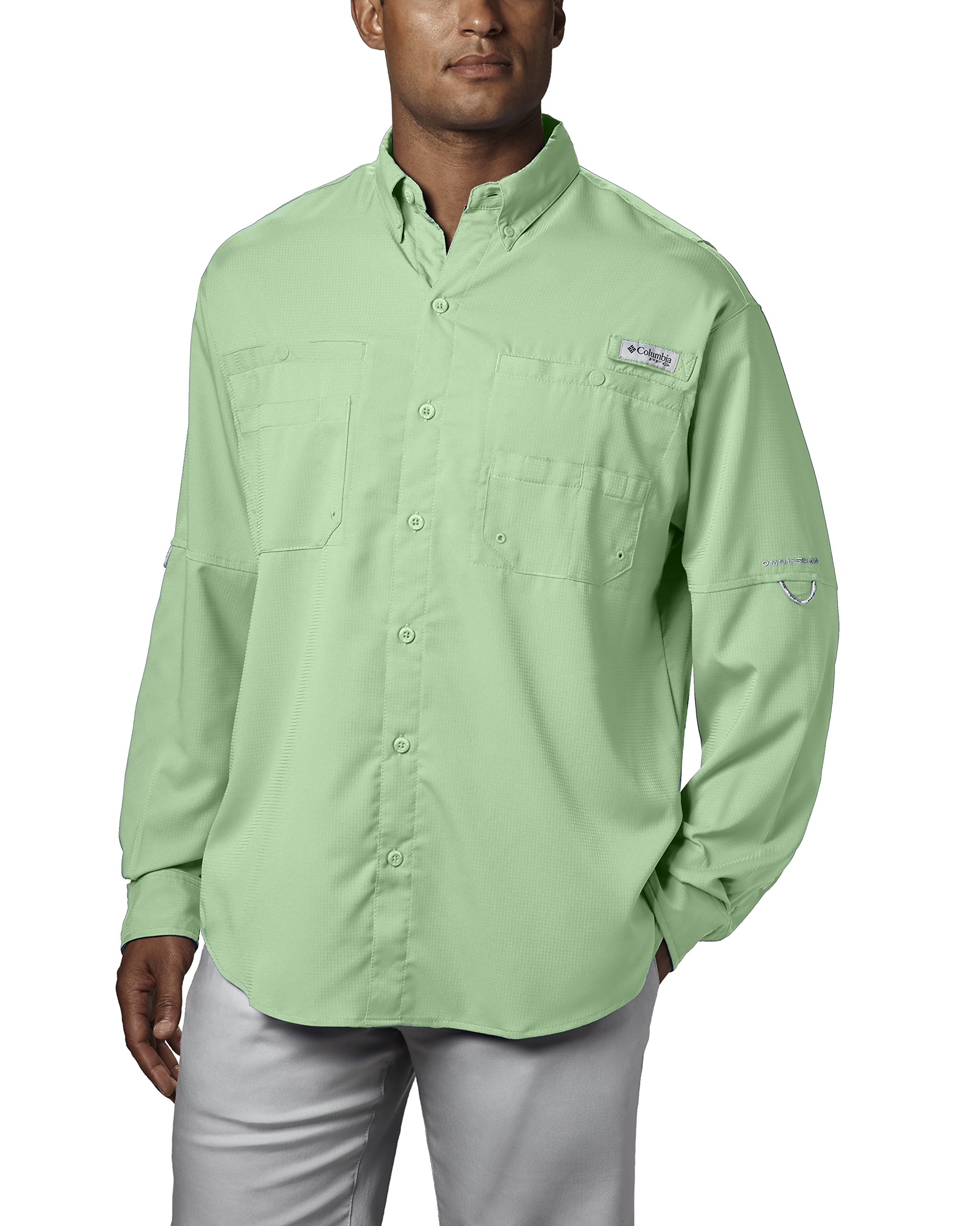 Columbia Men's Plus Tamiami II Long Sleeve Shirt, Key West - Large
