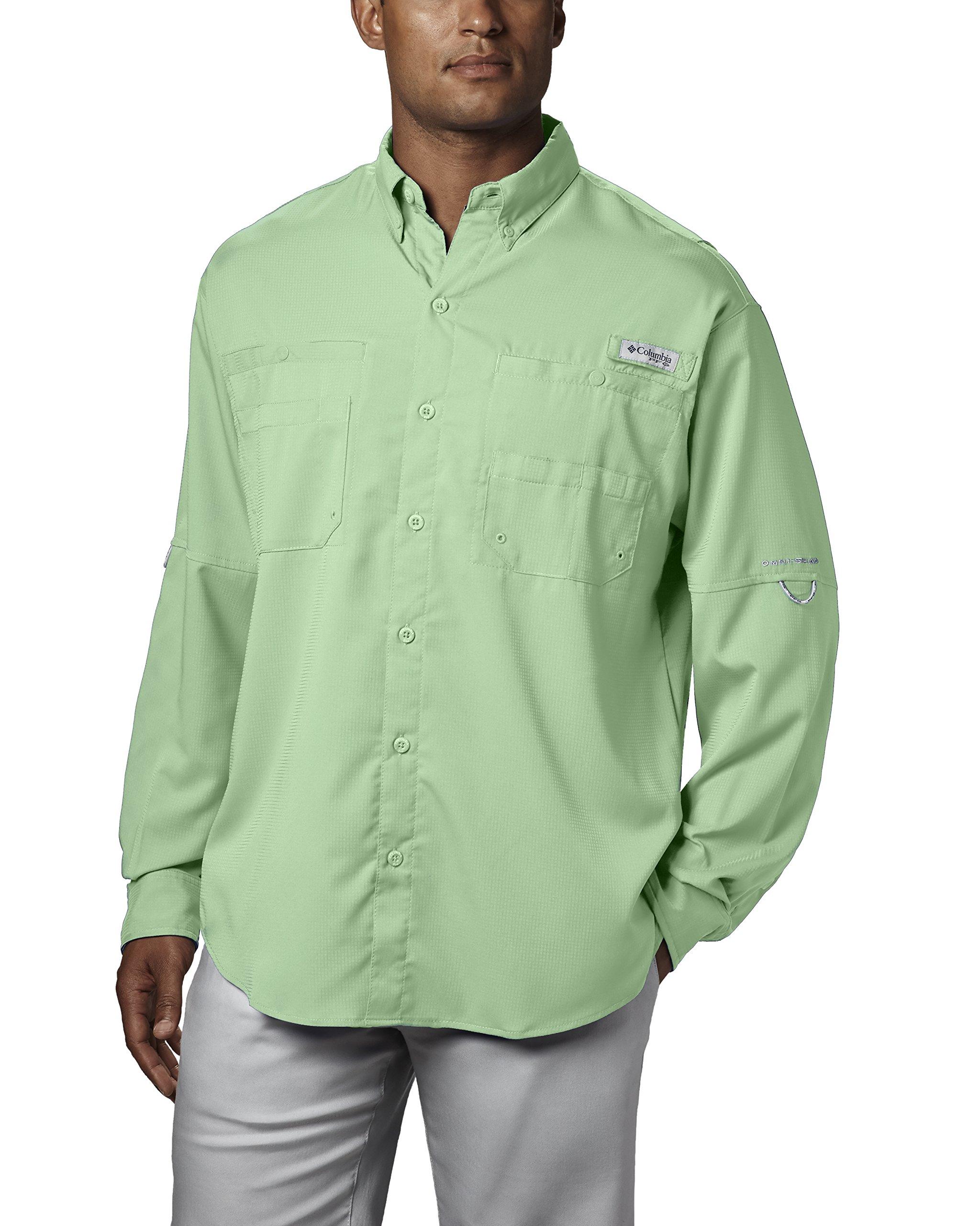 Columbia Men's Plus Tamiami II Long Sleeve Shirt, Key West - X-Small
