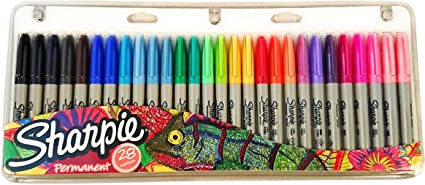 NEW Sharpie 28 Pack Fine Permanent Markers. Limited Edition Set ...