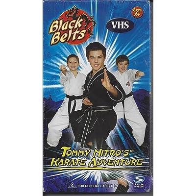 Black Belts Karate Home Studio VHS: Toys & Games