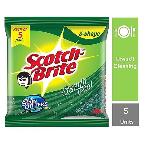 Scotch-Brite Scrub Pad - Pack of 5