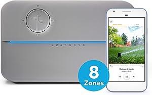 Rachio 8ZULWC-L R3e Generation: Smart, 8 Zone Sprinkler Controller, Works with Alexa, Gen, Gray