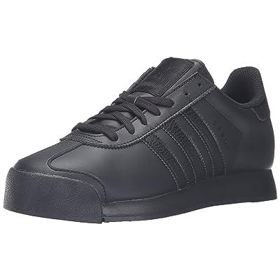adidas Originals Men's Samoa Retro Sneaker Running Shoe, Black/Black/Black, (8 M US) | Fashion Sneakers