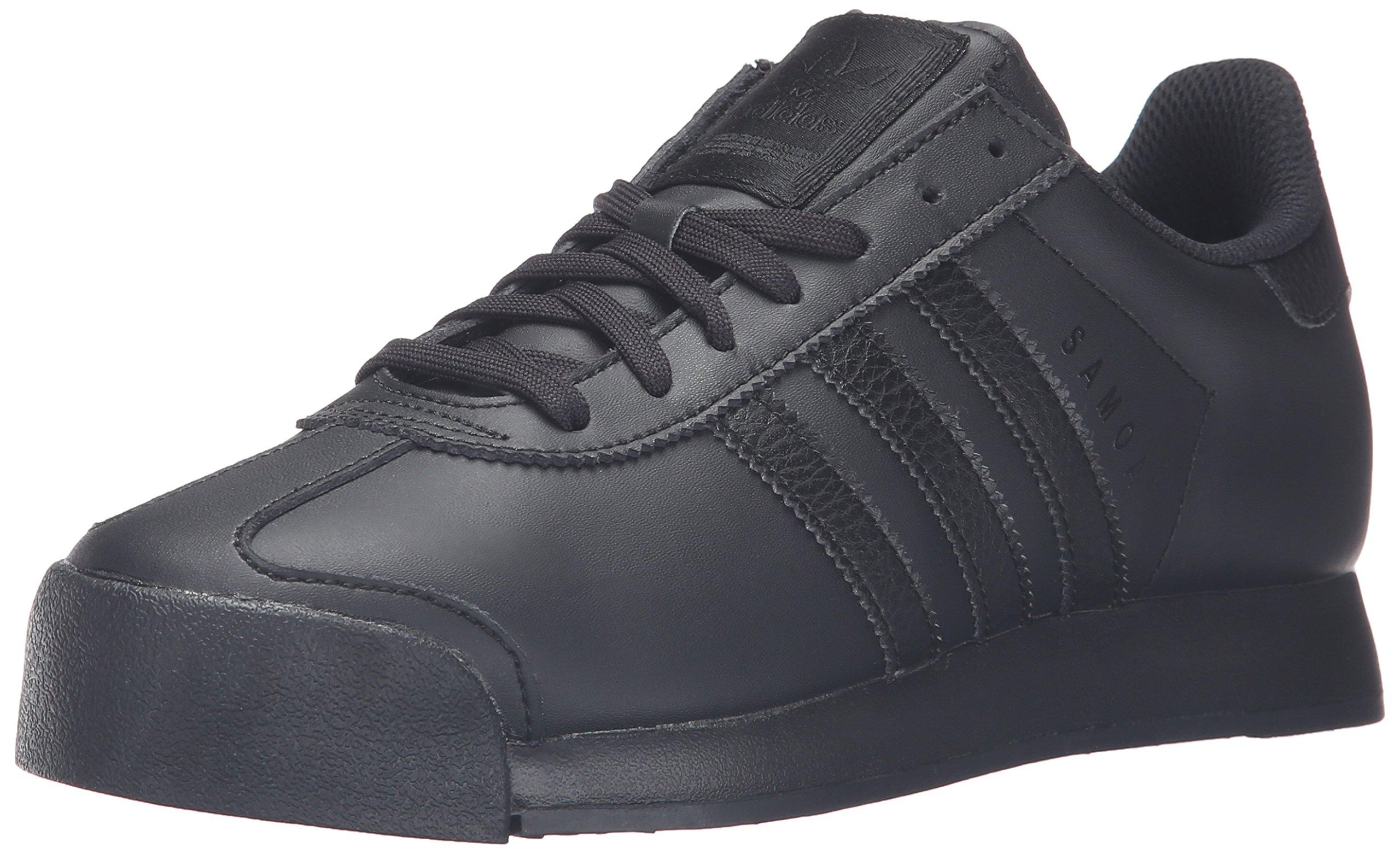 adidas Originals Men's Samoa Retro Sneakers, Black/Black/Black, (11 M US) by adidas Originals