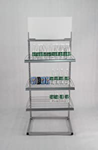 Beverage Rack Metal Rack Bakery Rack Confectionary Display Stand 15602