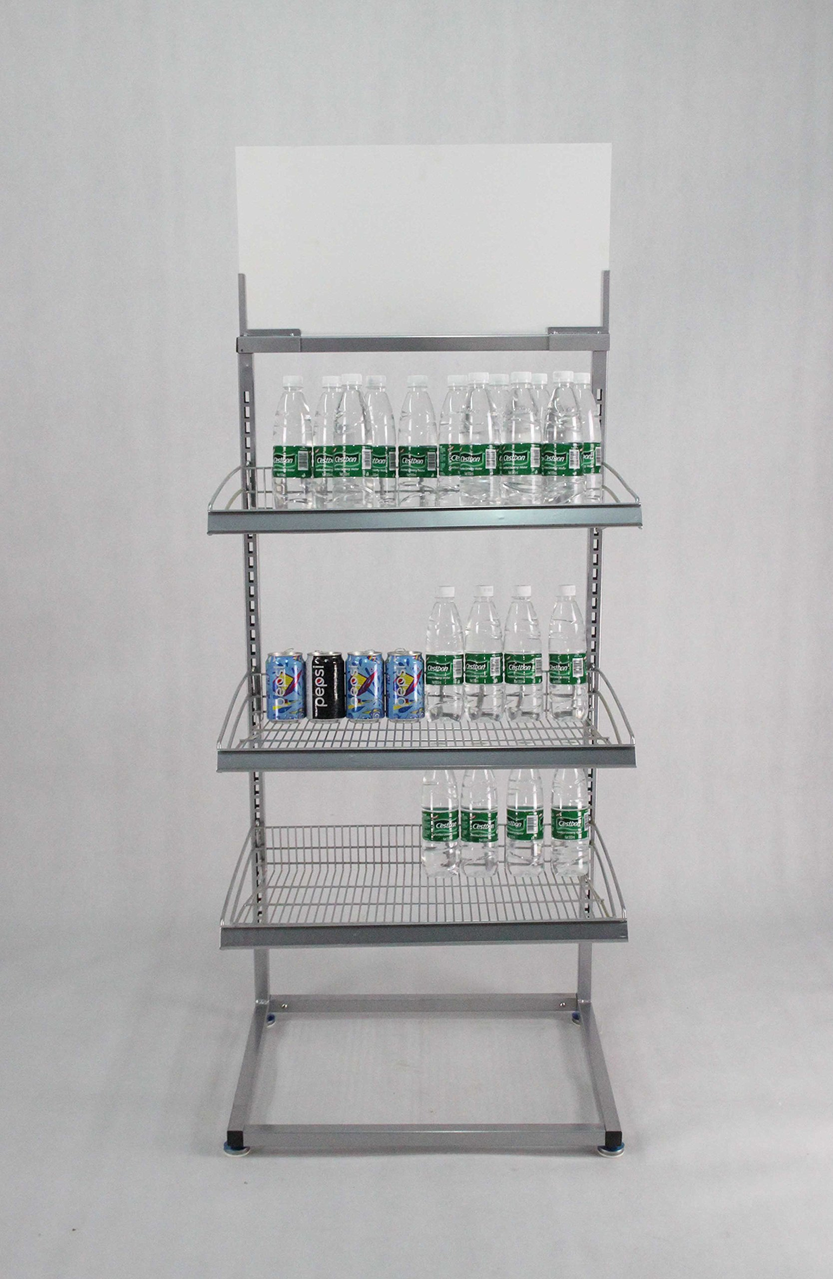Beverage Rack Metal Rack Bakery Rack Confectionary Display Stand 15602!