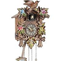 Cuco Reloj de cuco Reloj Real Madera Nuevo